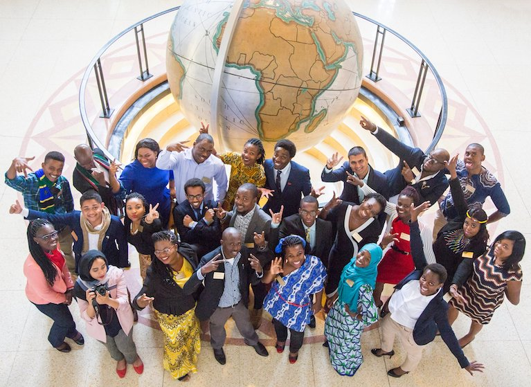 Young African leaders arrive in United States, fostering connections with Americans