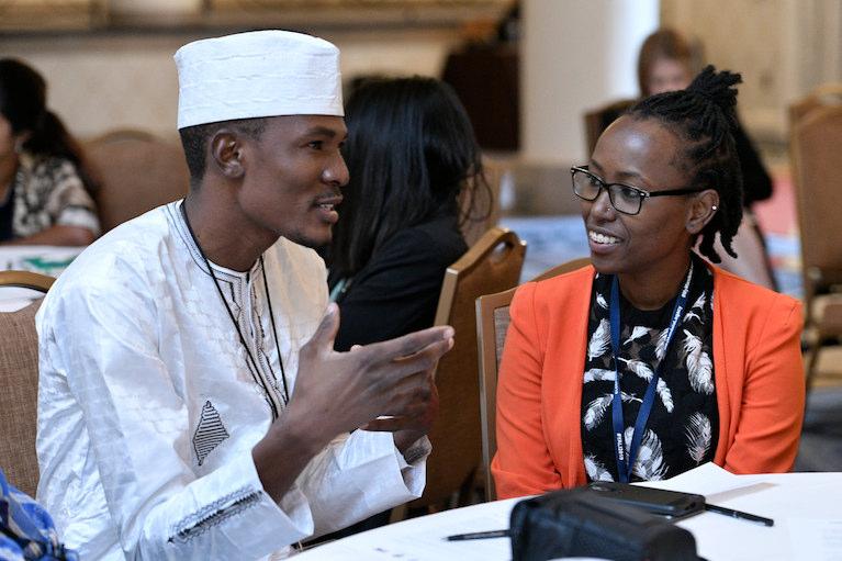 2019 Fellows at the Mandela Washington Fellowship Summit