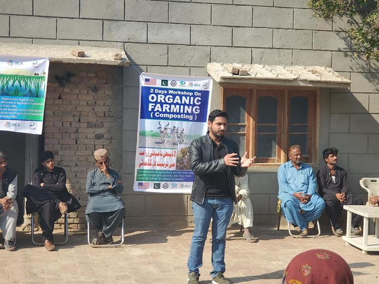 Sagar conducts workshop