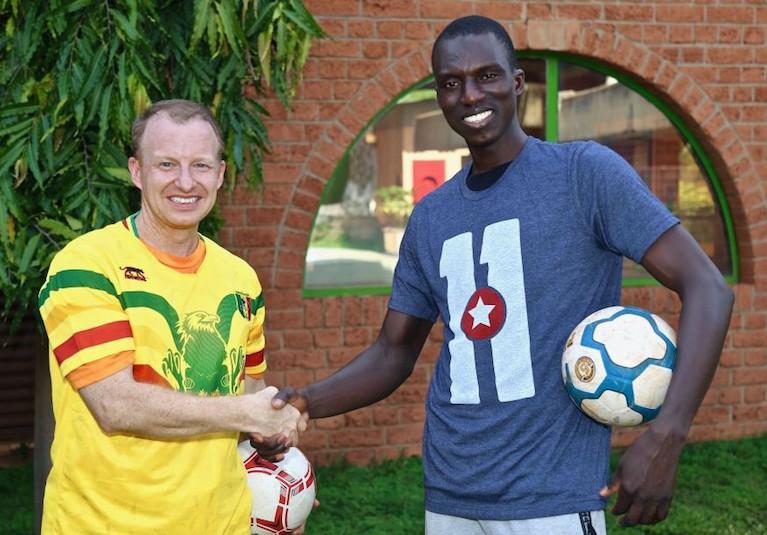 RE Soccer Handshake