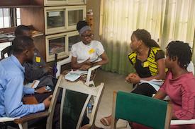 Nigeria YES Training facilitated by YES Champion and Mandela Washington Fellowship Alumni, Chibuzor Agomuoh