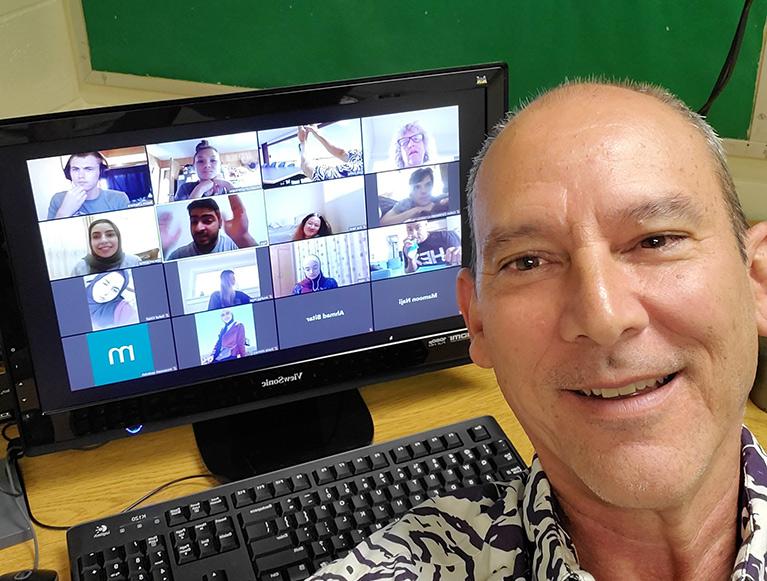 Global Solutions virtual meeting