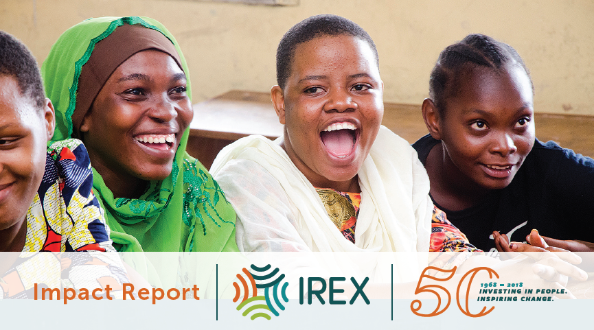 IREX Impact Report: 50th Edition