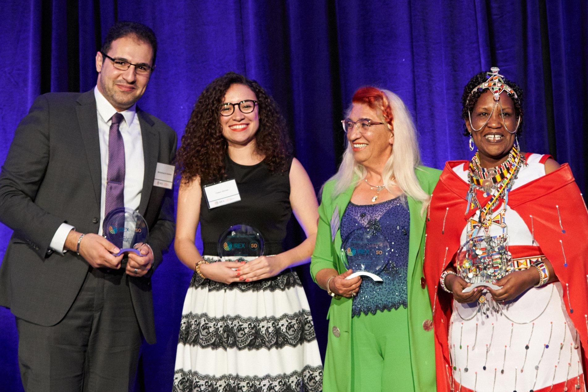 IREX alumni honorees