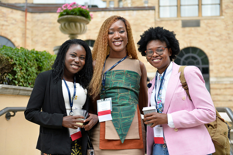 Seven hundred young African leaders forge connections in Washington