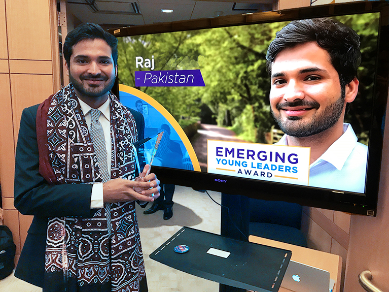 Promoting empathetic youth leadership in Pakistan: An interview with Raj