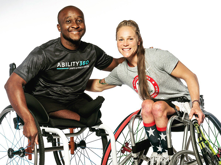 Fellowship helps a young Paralympian promote inclusion in Zimbabwe
