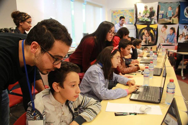 Increasing technology access for youth in Tunisia through coding