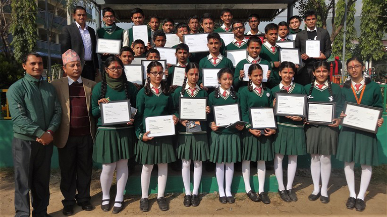 Using MOOCs to advance education in Nepal