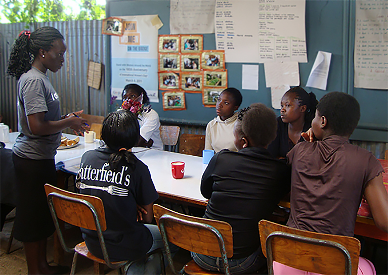 CSP Fellow engaging Kenyan youth in peacebuilding and conflict management strategies