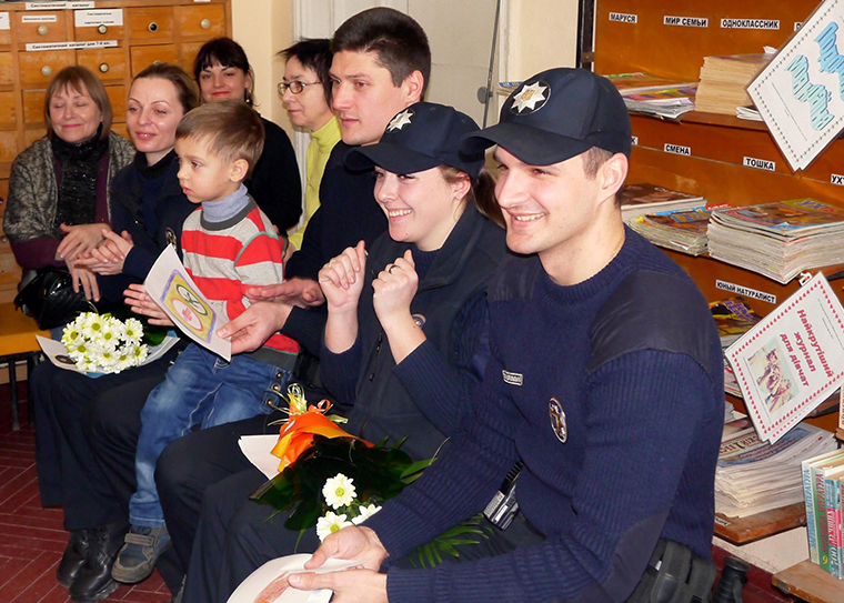 Trust building and dialogue around Ukraine police reform
