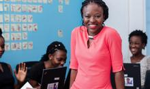 This young entrepreneur is preparing girls to lead the tech industry in Ghana